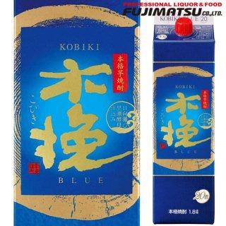 雲海酒造 木挽 BLUE (ブルー) 20度 1800ml 紙パック 芋焼酎 宮崎県