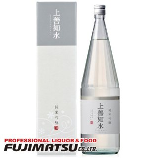 白瀧酒造 上善如水 純米吟醸 1.8L ※6本まで1個口で発送可能