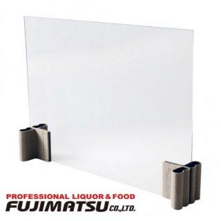 飛沫感染防止パネル テーブルマスク (ボード:60×45cm) 昭和丸筒× 3セット