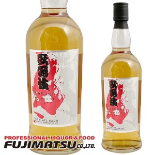 モルトウイスキー 歌舞伎 700ml(限定)※6本まで1個口で発送可能 東亜酒造 ウイスキー 43度