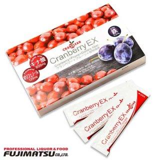 CRANCLEAN CranberryEX - クランベリーEX -15g×30本(450g) ソフトゼリータイプ 健康食品 クランベリー プルーン 食物繊維