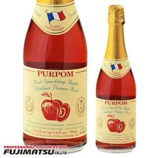 ピュアポム スパークリング アップルジュース ロゼ 750ml ノンアルコール PURPOM ストレート果汁100%