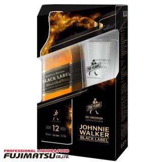 ジョニーウォーカー ブラックラベル 12年 ギフトボックス 700ml