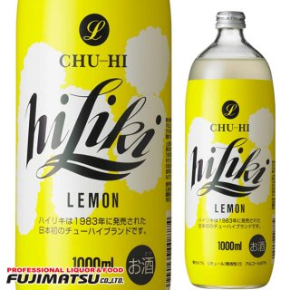 アサヒ チューハイ ハイリキレモン 1000ml