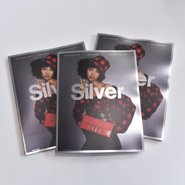 Silver MAGAZINE / BOOK N°5  2019