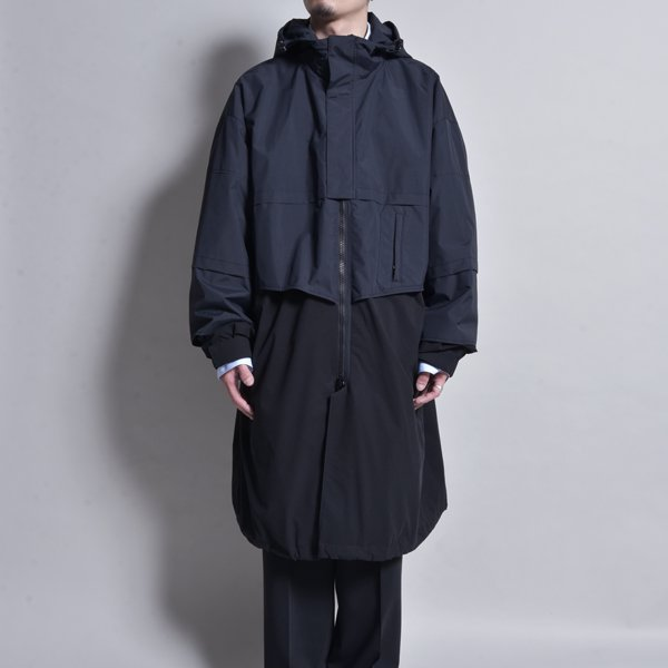 <img class='new_mark_img1' src='https://img.shop-pro.jp/img/new/icons20.gif' style='border:none;display:inline;margin:0px;padding:0px;width:auto;' />JERIH / LAYERD DETAIL WIND-BREAKER
