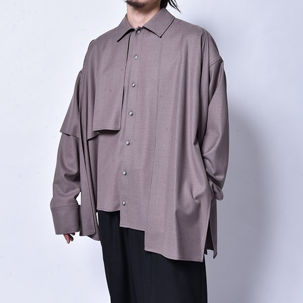 rin / Put on L/S Shirt GREY