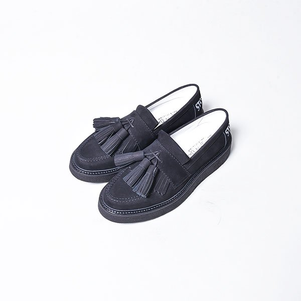 <img class='new_mark_img1' src='https://img.shop-pro.jp/img/new/icons20.gif' style='border:none;display:inline;margin:0px;padding:0px;width:auto;' />KIDS LOVE GAITE / Big Tassel Loafers BK