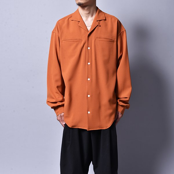 rin / Loose OP L/S Shirt ORG