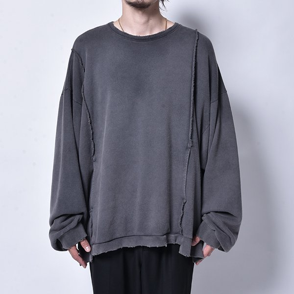 rin / Dusty Switch L/S Sweat DUST BK