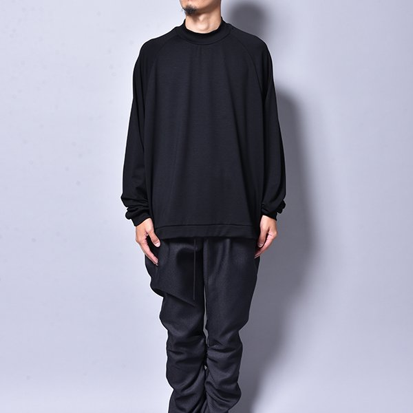 rin / Mini Neck L/S Tee BK