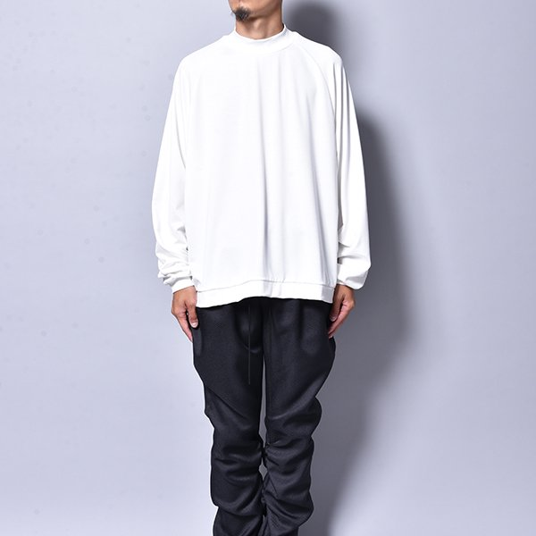 rin / Mini Neck L/S Tee WH