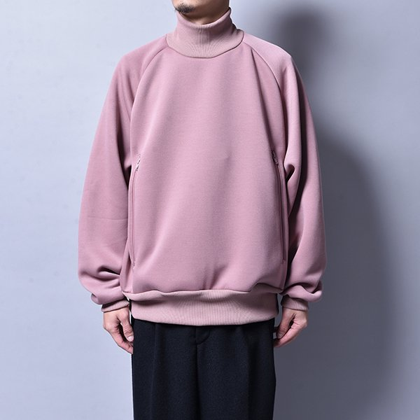 rin / Neck Loose Sweat PINK