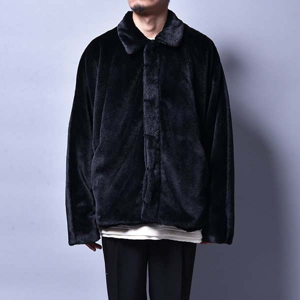 rin / Fur Sic Jacket BK