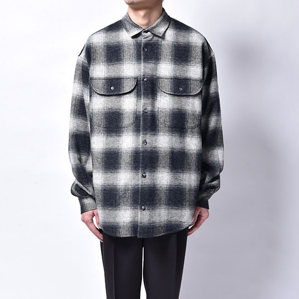 rin / Cross Check L/S Shirt BK