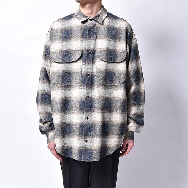 rin / Cross Check L/S Shirt BEI