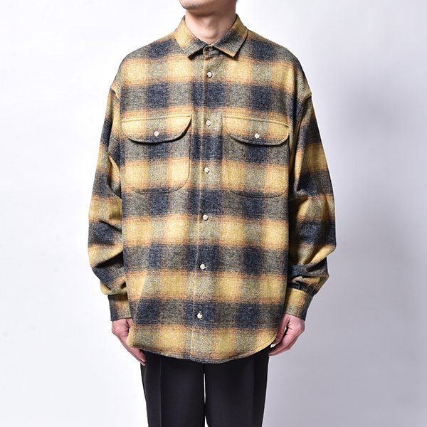 rin / Cross Check L/S Shirt YEL