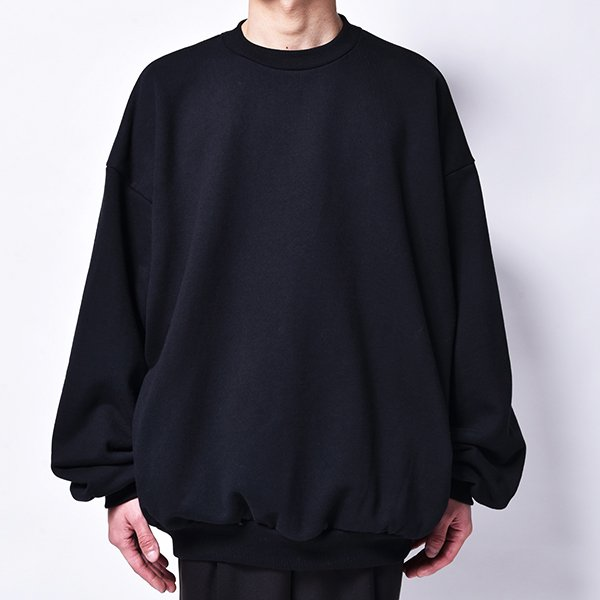 rin / Heavy Big Arm Sweat BK