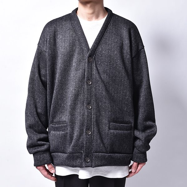 rin / Low Loose Cardigan BK