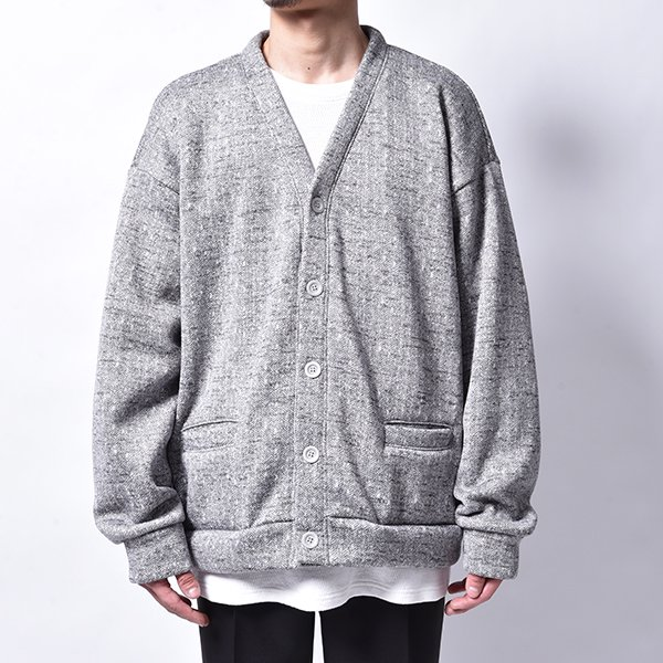 rin / Low Loose Cardigan GREY