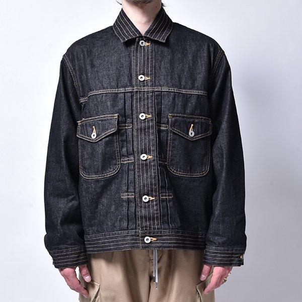 rin / Wash One Denim Jacket BK DENIM