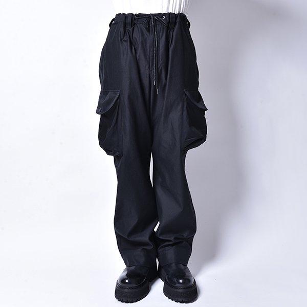 rin / Big Pocket Cargo Pants BK