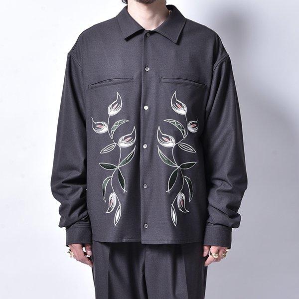 rin / Stine EMB L/S Shirt CHA