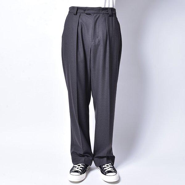 rin / Belt Wide Slacks Pants CHA