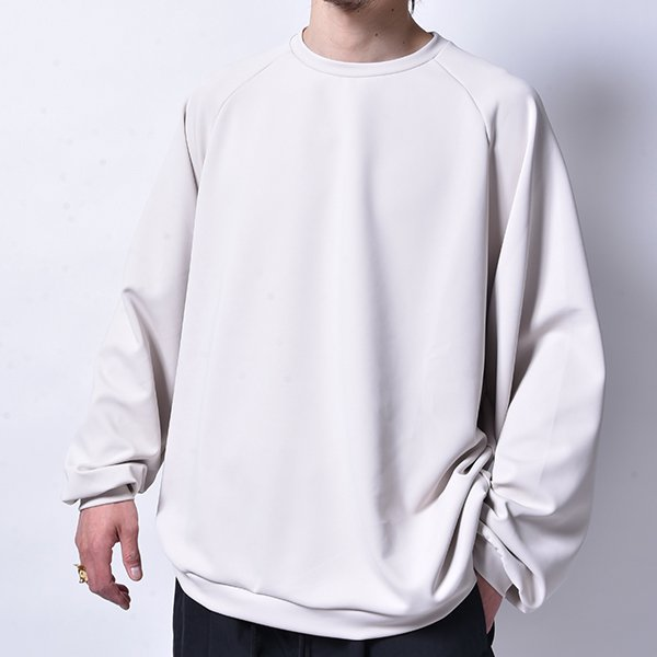 rin / Soft Big L/S Tee GREIGE