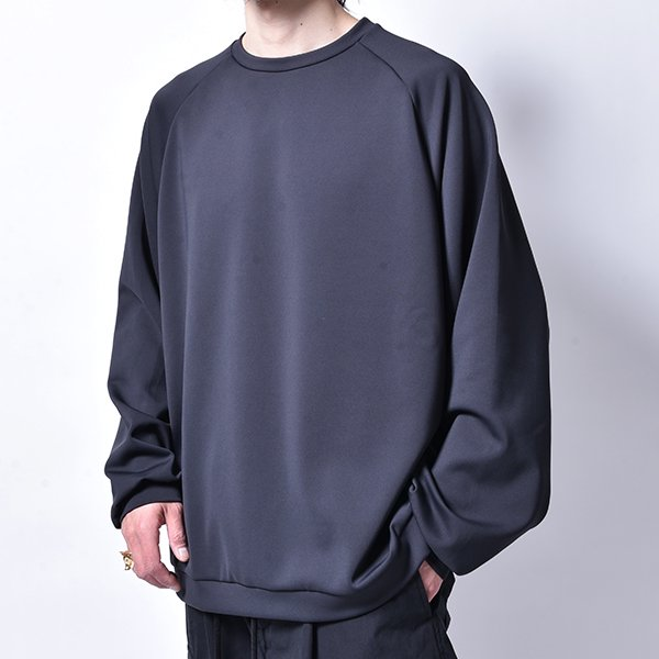 rin / Soft Big L/S Tee MAD BK