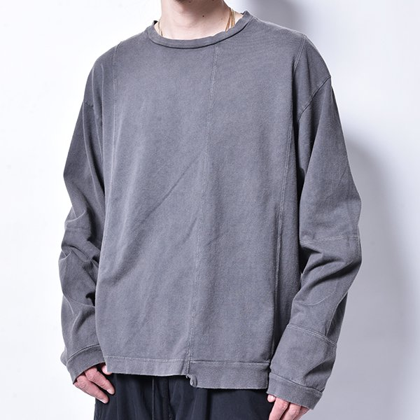 rin / Dust Switch L/S Tee Vintage GREY