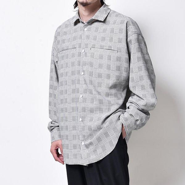 rin / GARA Loose L/S Shirt CHECK