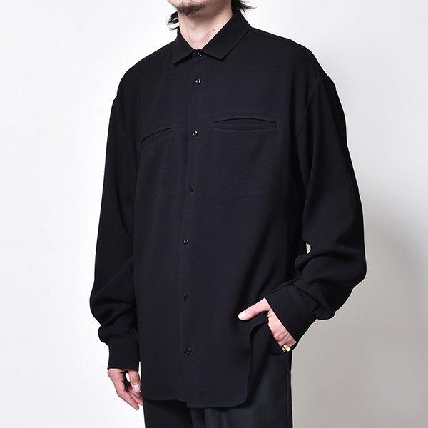 rin / Clean Loose L/S Shirt BK