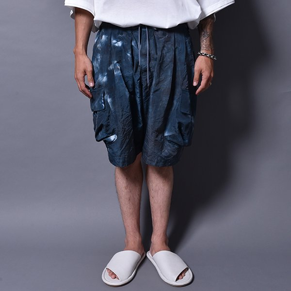 rin / Dusty Cargo Short Pants BLUE GREY Dust