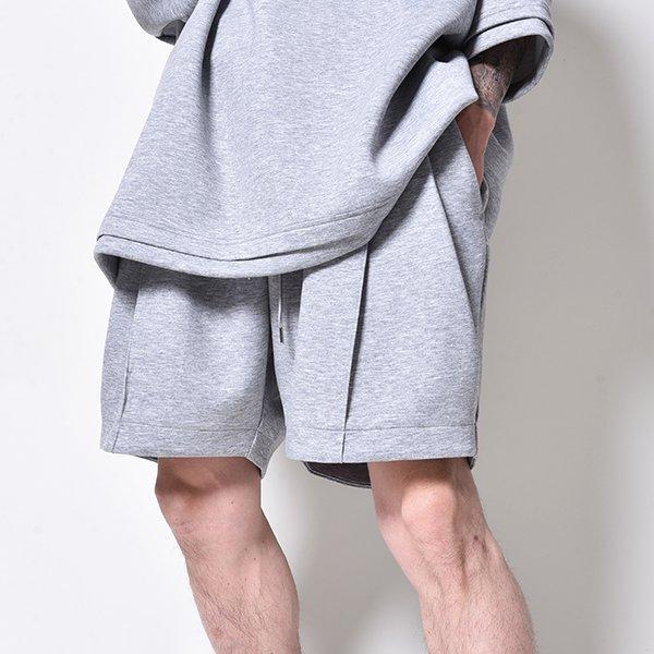 rin / 2TUCK Relax Short Pants GREY