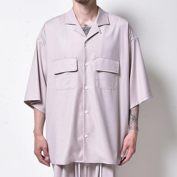 rin / Clean Wide S/S Shirt PEACH