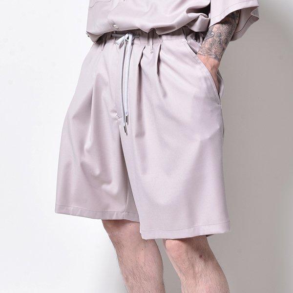 rin / 2TUCK Clean Short Pants PEACH