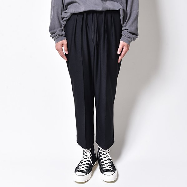 rin / Cooling Cropped Pants BK