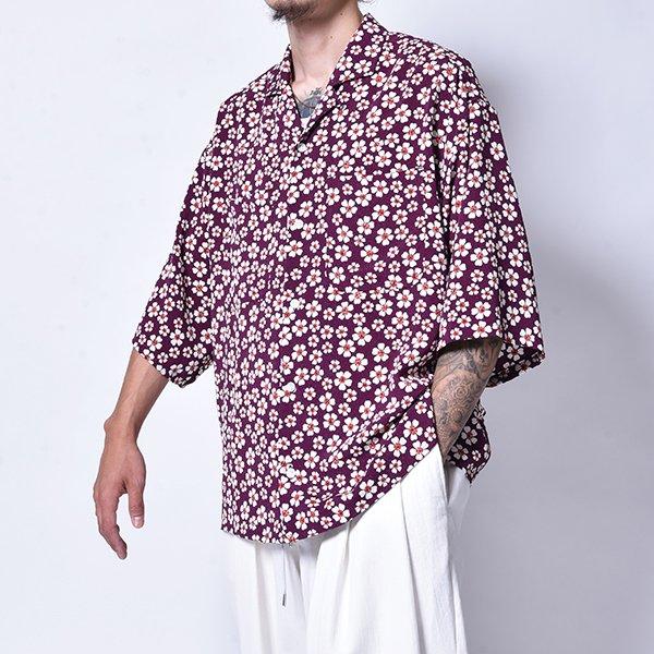 rin / GARA Wide OP S/S Shirt FLOWER