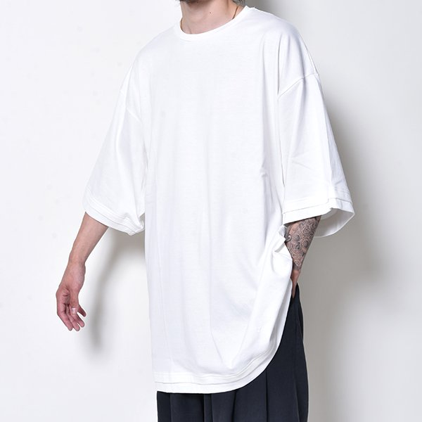 rin / Tole Big S/S Tee WH