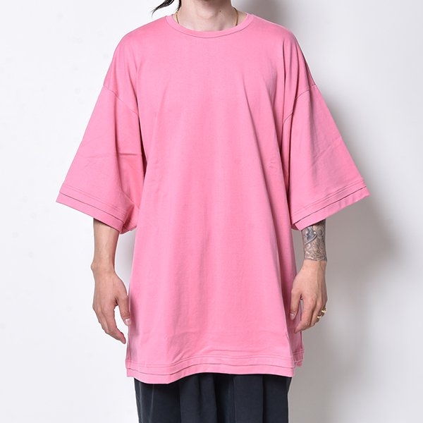 rin / Tole Big S/S Tee PINK