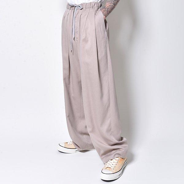 rin / 3Tuck Big Wide Pants BEI