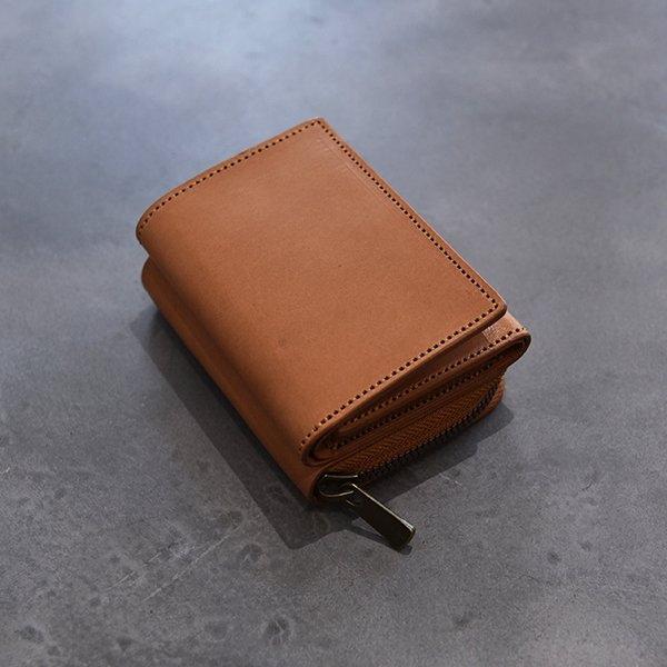 rin / CC Leather Wallet TAN