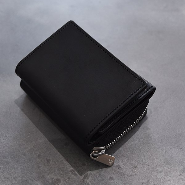 rin / CC Leather Wallet BK