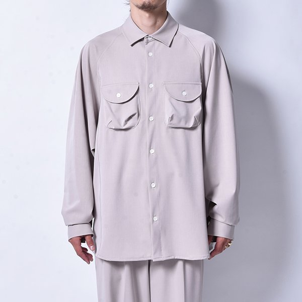 rin / Over Work L/S Shirt GREIGE