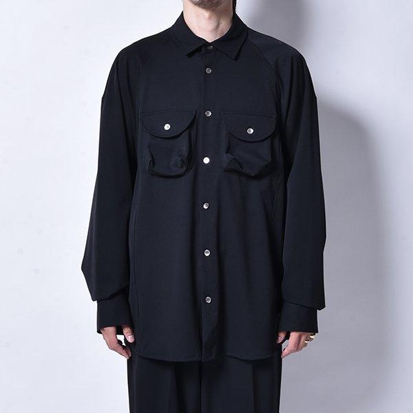 rin / Over Work L/S Shirt BK
