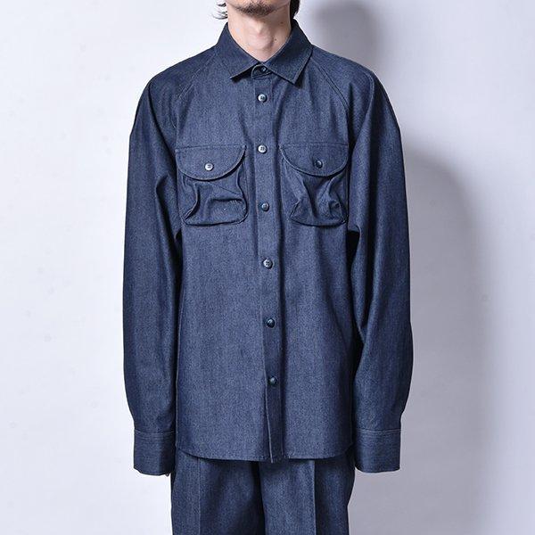 rin / Over Work L/S Shirt DENIM