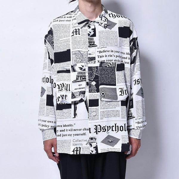 rin / News Horse L/S Shirt WH