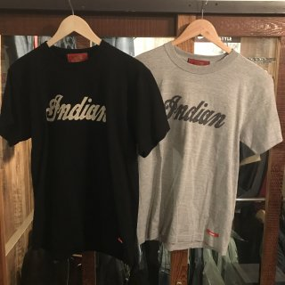《Indian/インディアン》定番Tシャツロゴ