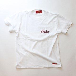 《Indian/インディアン》定番Tシャツ ヘッドロゴ